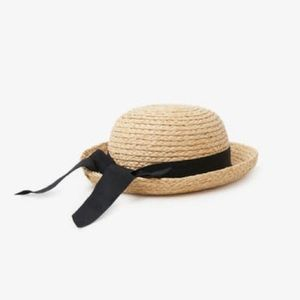 Zara | Straw Hat With Band | Size 6-12MO